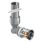 connessione a gomito per radiatore ø 16x350 mm s-press plus