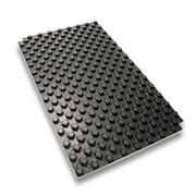 pannello isolante preformato nero tecto st composto da un foglio