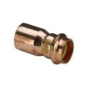 manicotto  ridotto 2615.1 m/f rame per gas