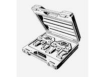 set ganasce con valigia per sistemi metallici ø da 42/54 mm