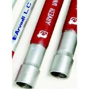 tubo acciaio gysko rivestito p.e. saldato per metano uni en 1025