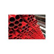 tubo saldato laminato a caldo preverniciato rosso ral 3000 serie