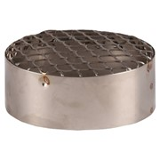 terminale di aspirazione aria in acciaio inox