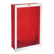 cassetta da incasso ral 7013 per idrante dn 45 - 560x360x150 mm