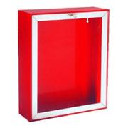 cassetta esterna a parete antifortuni ral3000 per idrante dn45