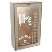 idrante a muro  20 ml. da interno inox uni 45 ce - cassetta 610x