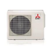 unita' esterna multisplit a 3 attacchi a pompa di calore con gas