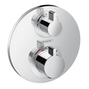 set termostatico ad incasso ecostat s per 1 utenza da abbinare a