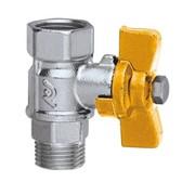 rubinetto di intercettazione per valvola sfogo aria per impianti