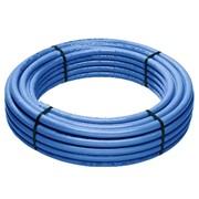 tubo multistrato rivestito blu in rotoli