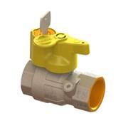 valvola sfera gas per verifica impianto interno uni 7129 con 1 t