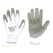 guanto soft touch in nitrile supporto a filo continuo in nylon s