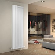 radiatore tubolare in acciaio tesi 3 colonne ral 9010