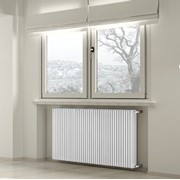 radiatore tubolare in acciaio tesi interasse ghisa ral 9010 per
