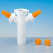 tee in pp per lavastoviglie e lavatrici ø 40 mm bianco
