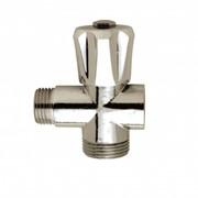 rubinetto intermedio con attacco lavatrice raccordo a 3 pezzi pe