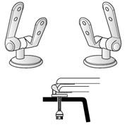 coppie di cerniere per sedili friges