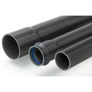 tubo in barre in pvc ad incolaggio