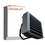 aerotermo modulante da 35 kw termici con alette orientabili sing
