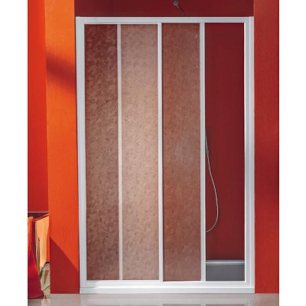 Porta Scorrevole A 2 Ante.Samo Porta Scorrevole Ciao 2 Ante Polystyrene Bianco 117 121 Cm