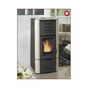 termostufa a pellet h2o  25 metalcolor