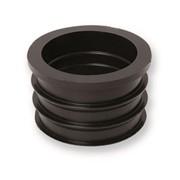riduzione in gomma nera per raccordo tubi