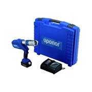 pressatrice a batteria up110 completa di valigia senza ganasce