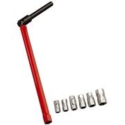 chiave per il montaggio di rubinetti e miscelatori con fissaggio